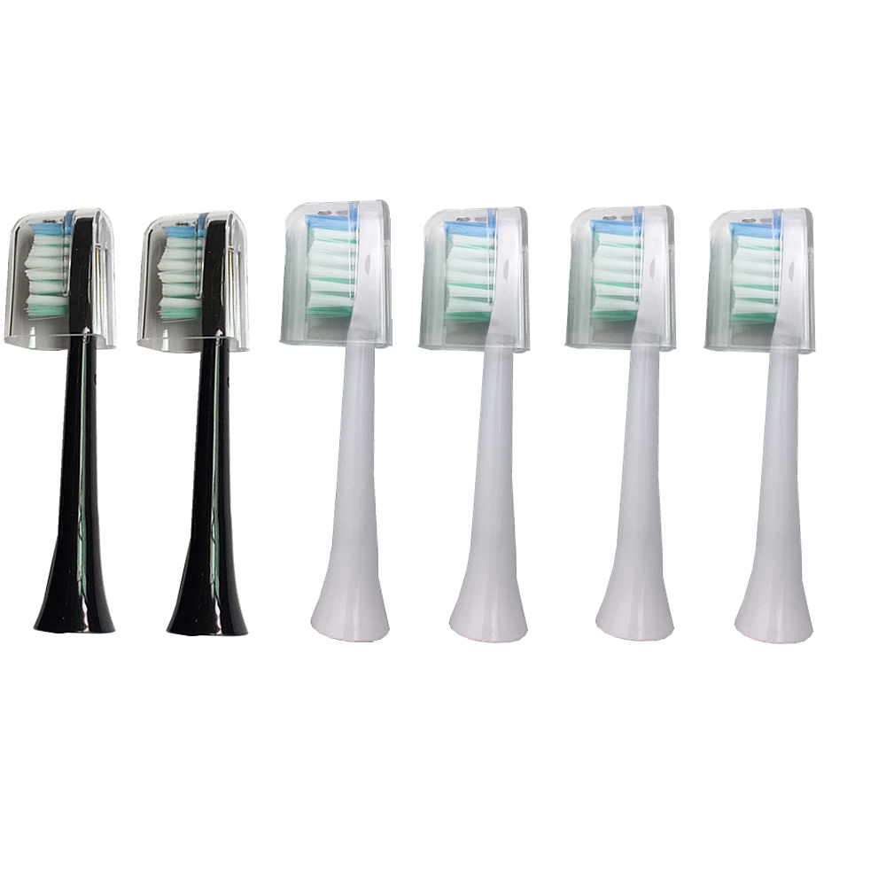 Sarmocare S100/ S200 Toothbrushes Head Ultrasonic Sonic Electric Toothbrush fit Digoo DG-YS11 Toothbrushes Head image