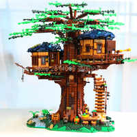 21318 3036Pcs Ideas Tree House Playset The Biggest Creator Model Building Blocks Bricks Toys SX6007 Gifts For Children