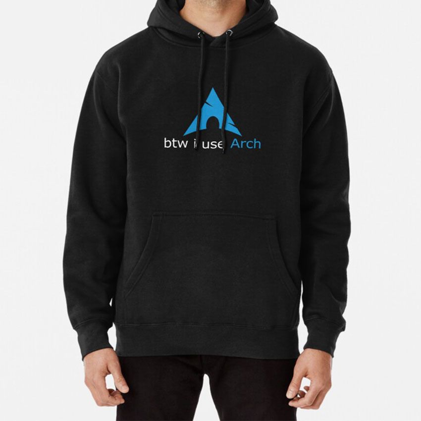 Btw I Use Arch Hoodie Linux Arch Use Nerd Geek Tux Arch Linux Use Arch Btw Lovers
