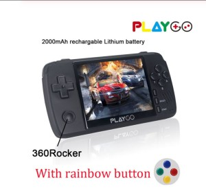 New PLAYGO Handheld Game Console 3.5 inch IPS Handheld Game player 16GB More Than 1000 games GB Emulator Consoles Gaming players