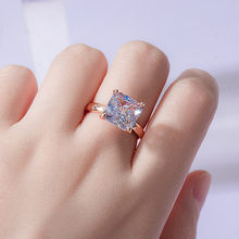 Wedding Engagement Ring Luxury Crystal Ring for Women AAA White Cubic Zirconia Ring 2021 Trend Female Love Jewelry