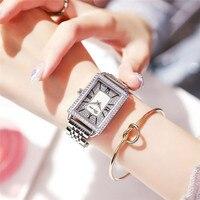 2020 Light Luxury Women's watch Korean Version simple fashion Star women's watch Steel strip Waterproof Gifts For Women