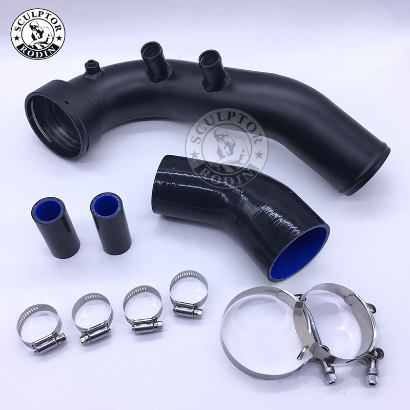D'admission Turbo Charge Kit De Tuyaux Pour N54 E82 E87 E88 E90 E92 E93 135i 335i 335xi 335is 335i xdrive charge d'air tuyau 535xi 535i xdrive