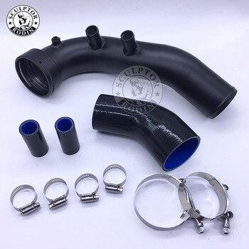 Потребление турбонаддувом трубы комплект для N54 E82 E87 E88 E90 E92 E93 135i 335i 335xi 335is 335i xdrive воздуха заряда трубы 535xi 535i xdrive