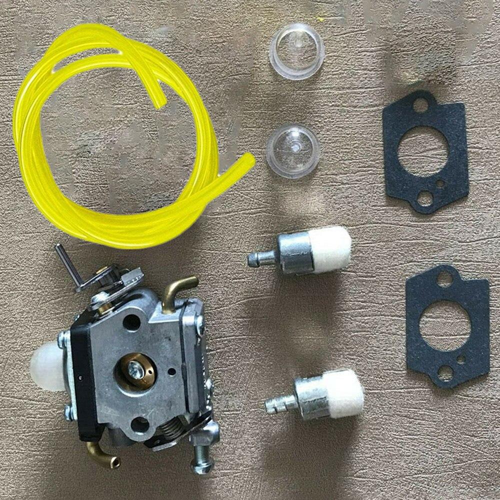 trimmer carburador gaxetas linha de combustível primer lâmpadas filtros combustível