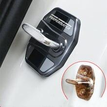 4 peças para bmw x2 x3 x4 x5 x6 f39 g01 g02 g05 g06 g11 g32 fechadura da porta do carro capa protetora anti-ferrugem anti-usar estilo acessórios