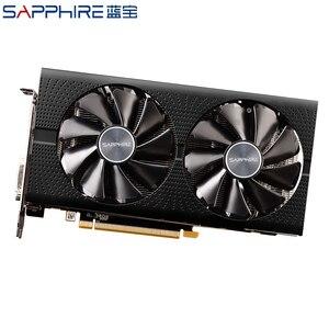 Image 2 - بطاقة فيديو من الياقوت AMD Radeon RX 580 4GB 256bit بطاقات الرسومات للالعاب وحدة معالجة الرسومات RX580 4GB GDDR5 بطاقات الرسومات الألعاب المستخدمة RX580