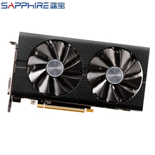 Graphics-Cards GDDR5 Amd-Radeon Gaming SAPPHIRE Used Rx580 4gb 256bit Gpu Rx PC
