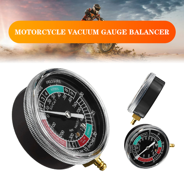 Calibrador de vacío de combustible para motocicleta y coche, carburador, sincronizador, medidor, equilibrador, herramienta Universal