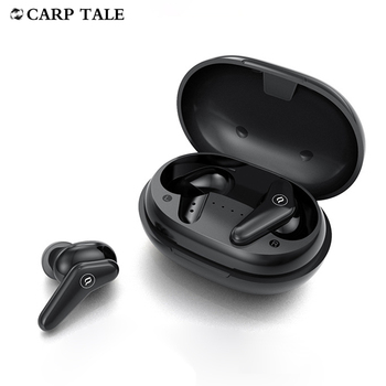 Smart true wireless v5.0 headset HIFI audio ENC noise reduction earphones ABC skin-friendly material 4.5g mini earbuds for phone image