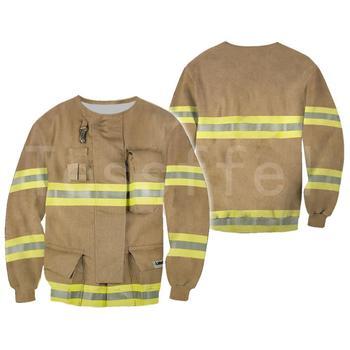 Tessffel Firefighters Suit Firemen superhero Harajuku Tracksuit NewFashion 3DPrint Zipper/Hoodies/Sweatshirt/Jacket/Men/Women s1 2