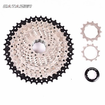 9Speed Freewheel MTB Mountain Bike Bicycle Cassette Flywheel 11-30/32/36/40/42/46/50T for Shimano SRAM image