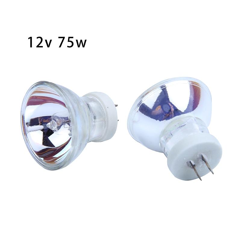 2Pcs Halogen Bulb Lamps For Dental Curing Light 12V 75W Dental Tools
