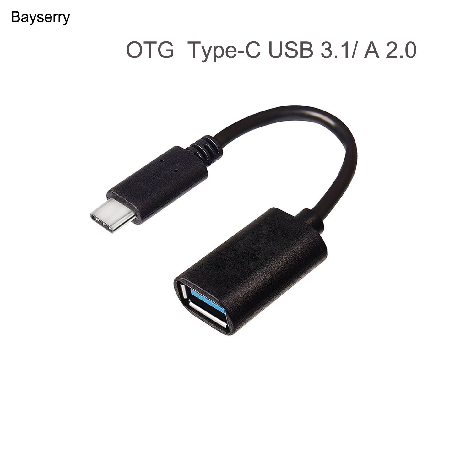 OTG Type-C USB C Adapter USB Female To Type C Male Converter For TypeC Phone Tablets Charge Data Otg Devices USB Type-c Cable