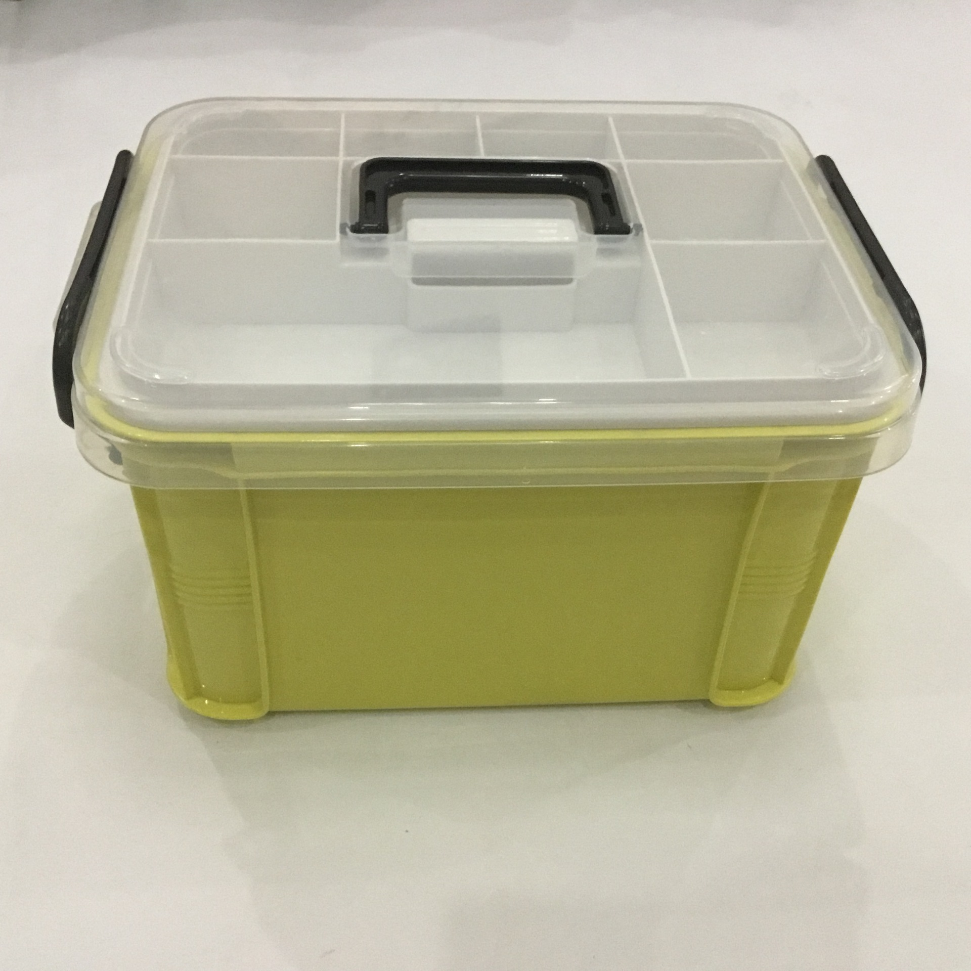 Medical Box Large Medicine Box First Aid Kit Double Layer Medicine Box Hand Chest For Household Indoor 4 Color