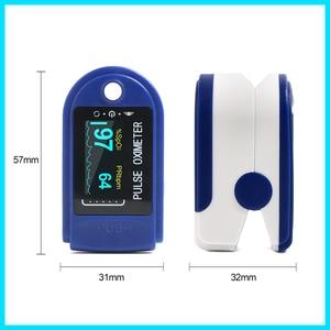 Image 2 - RZ الإصبع نبض مقياس التأكسج أوكسيمترو الدم الأكسجين التشبع متر إصبع SPO2 PR رصد نبض مقياس التأكسج