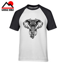 2019 Summer Ganesh 3d T-Shirt Elephant-Headed Hindu God Ganesha Amazing 3d Unisex Print Funny Tee Men Summer T Shirt Tops 5xl(China)