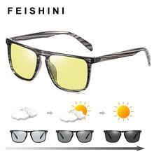 Feishini прямоугольные высококачественные поляризованные солнцезащитные