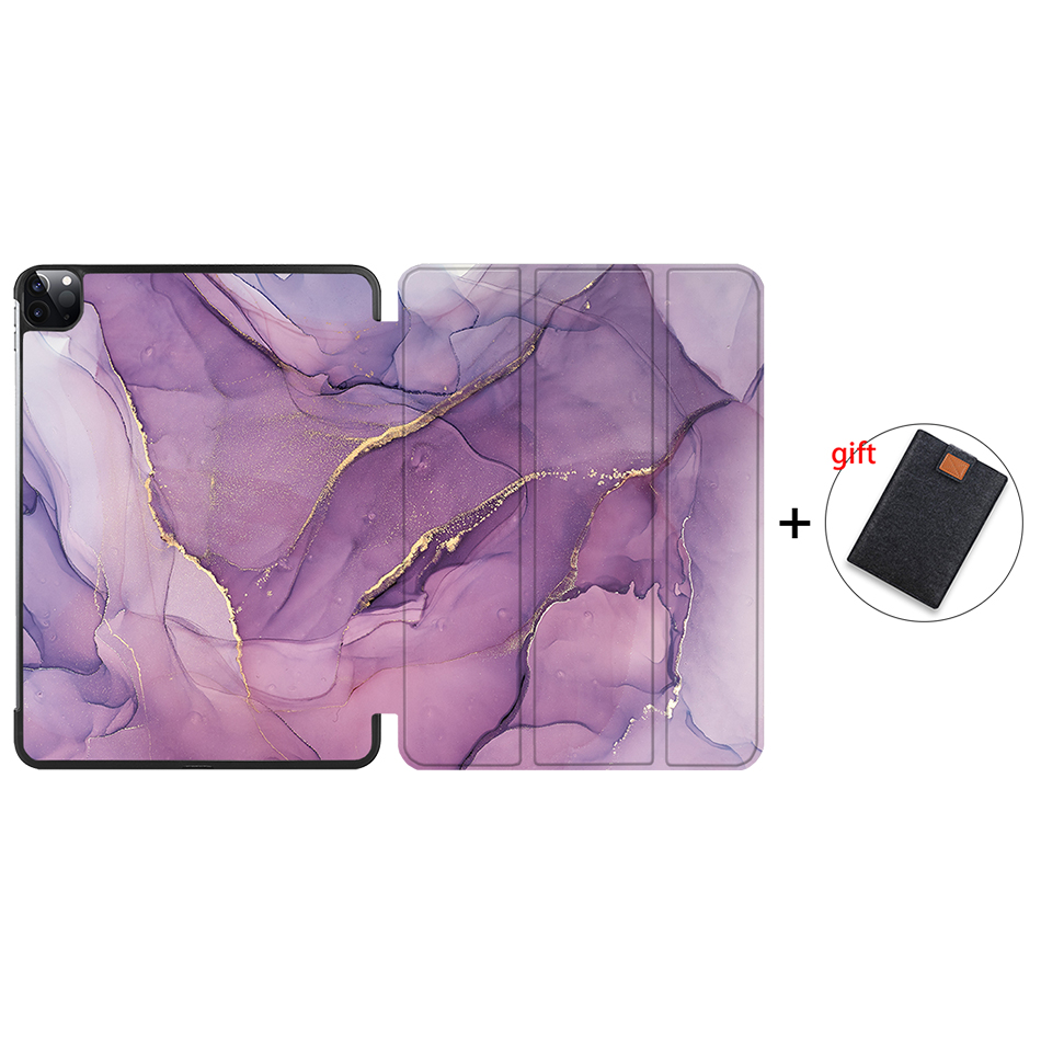 IP15 Clear MTT 2020 Case For iPad Pro 12 9 inch A2229 A2233 Magnetic PU Leather Flip Stand