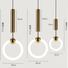 Modern Pendant Lights For Kitchen Cafe Bar Nordic Lighting Led Wrought Iron Glass Round Ball Hanging Lamp 220V 110V magic beans dna lustres wrought iron industrial cafe project 5 lamps nordic art deco glass ball led pendant hanging lights