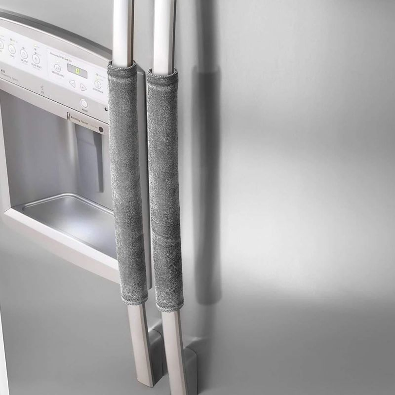 Refrigerator Door Handle Cover Handmade Kitchen Appliance Decor Handles Protector Gloves Home Accessories