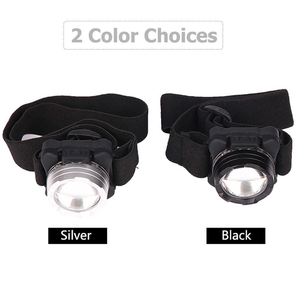 3000LM COB LED phare USB Rechargeable phare étanche lampe frontale blanc rouge éclairage avec batterie intégrée