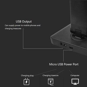 Image 3 - 52 個 2835 Led デスクランプ折りたたみ調光可能な回転可能な目のケアは、タッチセンシティブ Usb ポートテーブルランプ