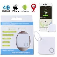 New Smart Key Finder Mini Bluetooth GPS Tracker Device Car Motor Alarm Tile Wallet Keys Alarm Locator Realtime Kids Pets Tracker