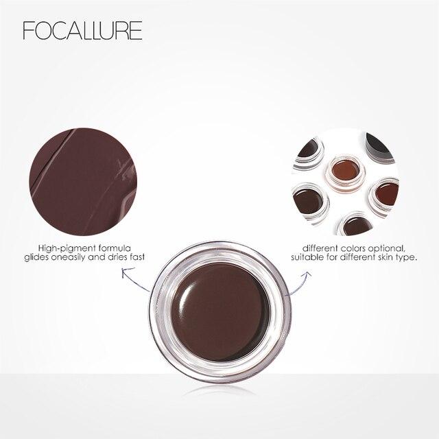 Focallure Waterproof Liquid Eyeliner Long-lasting Eye Liner Shadow Beauty Cosmetics Make UP Set 4