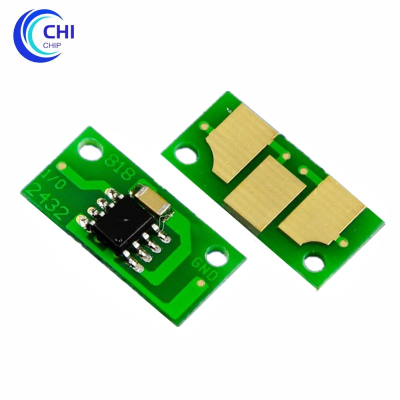 20 pces compatível toner cartucho chip toner para konica minolta magicolor 7400 7440 7450 7450ii toner redefinir chip