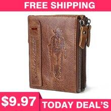brand Wallet men leather men wallets pur