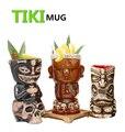 Бесплатная доставка Tiki кружка Tiki Tumblers керамические Гавайские кружки для вечеринок