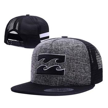 Fashion men's baseball cap hip-hop hat sea wave printing summer breathable mesh caps outdoor sun hats snapback gorras - discount item  10% OFF Hats & Caps
