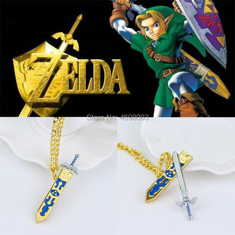 Legend of Zelda Game Console Pendant Necklace Cosplay Props image