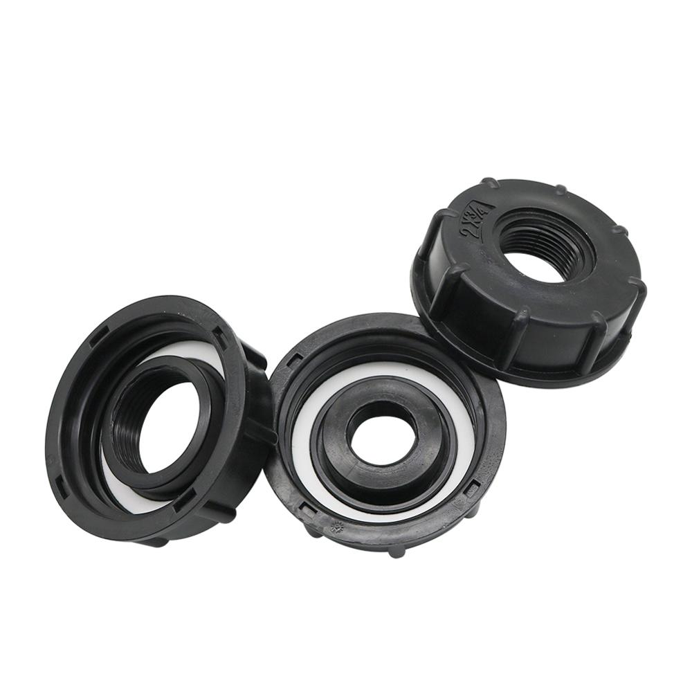 """1 2 3 4 1 Female Thread IBC Tank Adapter Water Tap Connectors Valve Replacement Fittings 1/2"""" 3/4"""" 1"""" Female Thread IBC Tank Adapter Water Tap Connectors Valve Replacement Fittings Garden Irrigation Connection Tools"""