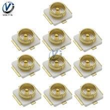 10 adet/grup IPX U. FL RF Koaksiyel Konnektör SMT Yama Lehimleme PCB Montaj Soketi Jack Dişi SMD Koaksiyel Konnektörleri Anten