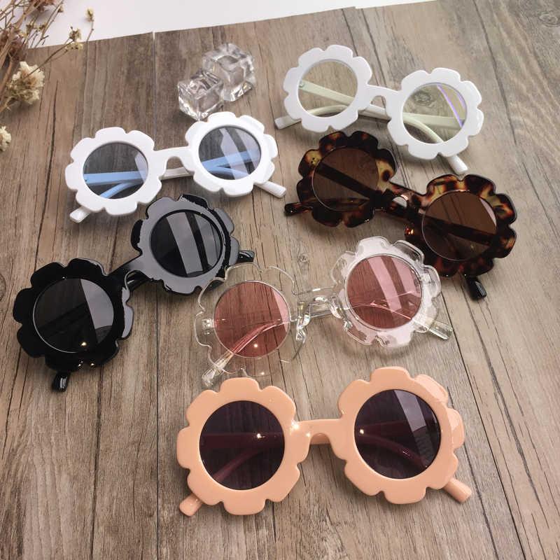 新しい幼児サマーキッズ女の赤ちゃんビーチサングラス子ベビー太陽アウトドアウェアひまわりメガネ子供ギフト UV400