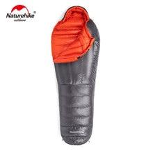 Naturehike Outdoor Camping Winter Sleeping Bag Down thickening Warm Sleeping Bag Adult light Mummy Single Sleeping Bags