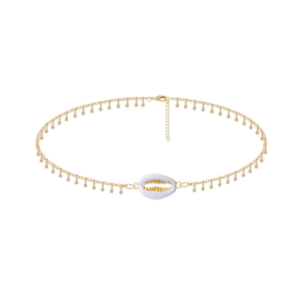Богемная оболочка ножной браслет браслеты женские модные золотые браслеты на щиколотку браслеты Сделай Сам вечерние подарки браслет