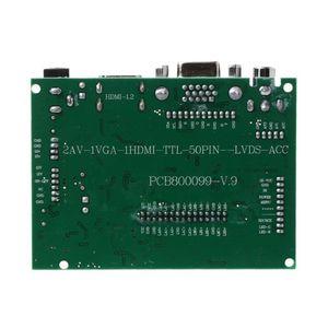Image 5 - 1Set LCD TTL LVDS Controller V+H Driver Board HDMI VGA 2AV 50 to 60PIN Module