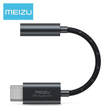 Meizu Amp Pro HiFi Decoding 3.5mm High Performance DAC Chip 3.5mm Type-C Audio Adapter for Android(China)