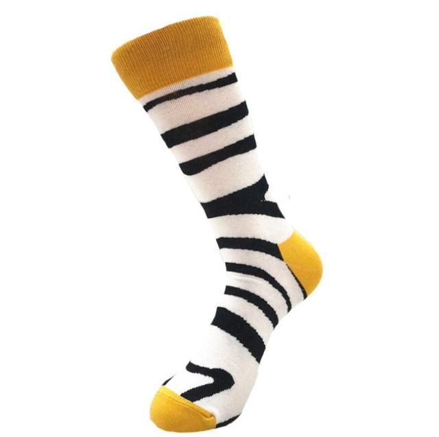 ORLVS سعيد الجوارب للجنسين الخريف الشتاء طويل носки мужские calcetines skarpetki لاعب خط الوسط calcetines هومبر divertido جوارب قطنية #4