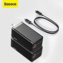 Baseus – chargeur GaN Pro 65W USB, prise US, Charge rapide 4.0 3.0, type-c PD, pour téléphone, ordinateur portable, tablette, iphone, xiaomi