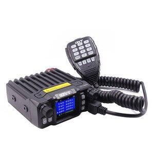 Image 3 - 2020 Versão mais recente Mini Rádio Móvel QYT KT 7900D 25W Quad Band 144/220/350/440MHz KT7900D UV transceptor ou com fonte de Alimentação