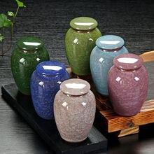 Funeral-Vase Cremation Caskets Bird Pet-Urn Ashes-Made-Ceramics Small Human Dog Urns