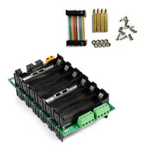 Image 5 - 18650 batterie Halter 24V 18650 Power Wand 6S Akku Balancer Bord 6s 40A BMS PCB Batterie fall diy Kit Ebike Batterie