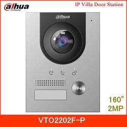 Dahua новая IP вилла дверная станция VTO2202F-P 2MP 160 ° угол обзора ночного видения и голосового индикатора