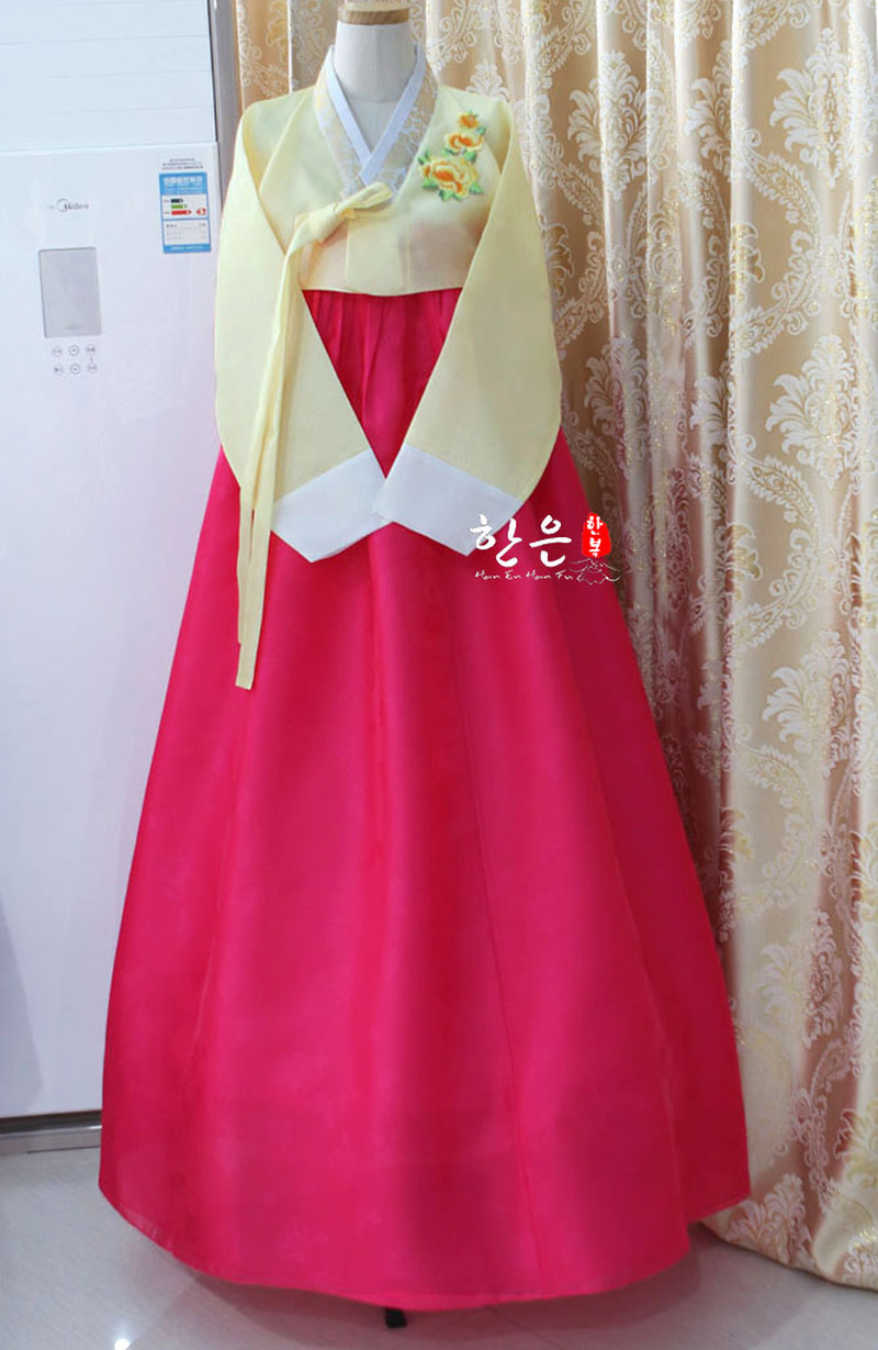 Korea Imported Fabric / Korean National Costume / Korean Traditional Hanbok / Welcome Clothes