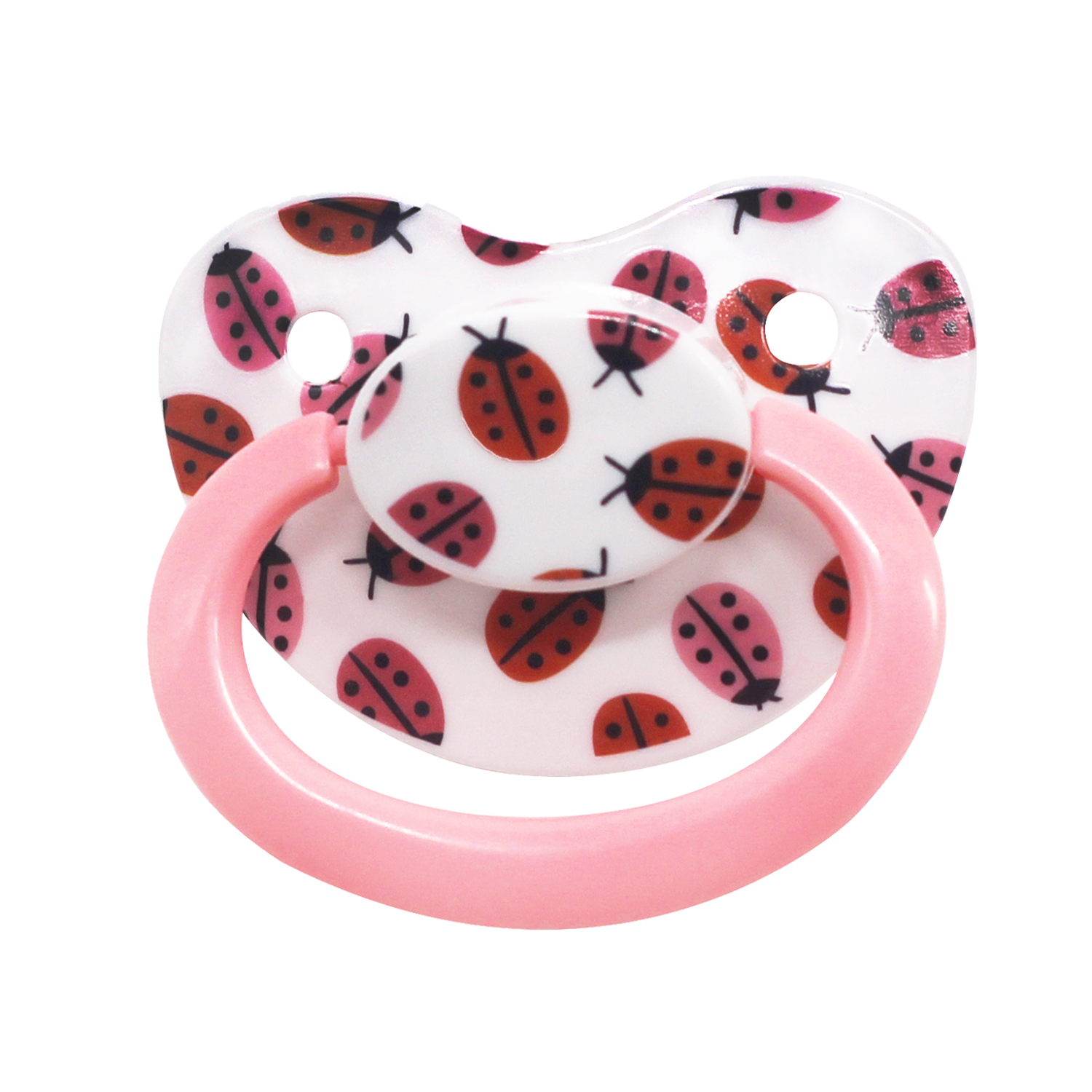 Ddlg Adult Pacifier Beetles Pattern Silicone Adult Plus Size Pacifier Little Space Daddys Girl ABDL Baby Pacifier