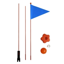 Bicycle-Flag Pennant Safety for Boys And Girls Balance-Bike 1-Pieces Divisible 120cm/180cm
